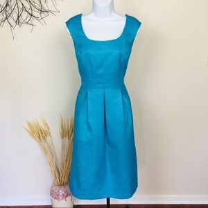 EVAN PICONE dressy floral blue summer dress. 14